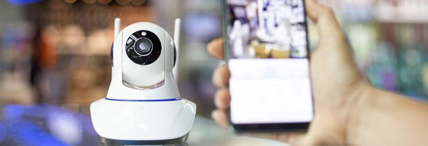 La caméra de surveillance sans fil